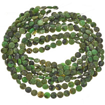 10mm Australian Jade Beads 16 inch Long Strand