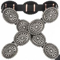 Silver Santa Fe Concho Belt 18429
