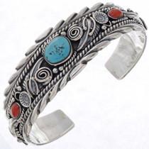 Navajo Turquoise Cuff Bracelet 15680