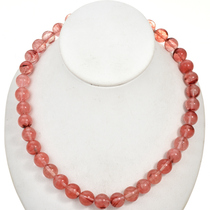 12mm Rose Quartz Glass Beads 16 inch Strand