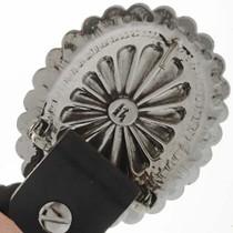 Antiqued Silver Concho Belt 22943