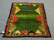 Hand Knotted Wool Rug 25132