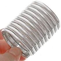Twist Wire Cuff Bracelet 12905