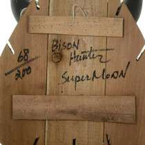 Bison Hunter Spirit Mask Wall Display Ltd Edition Black Wolf