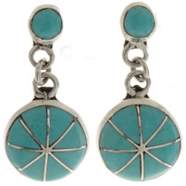 Turquoise Drop Earrings 26397