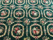 Plush Flower Pattern Rug 25140