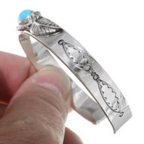 Hammered Silver Cuff Bracelet 23744