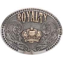 Silver Gold Custom Rodeo Belt Buckle 21665