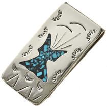Navajo Turquoise Money Clip 24132