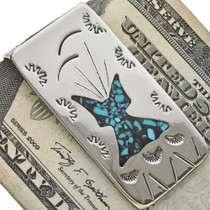 Indian Teepee Money Clip 24132