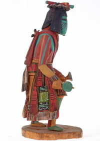 Vintage Tewa Flute Kachina 23150