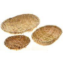 Vintage Hopi Sifter Basket Set 22440