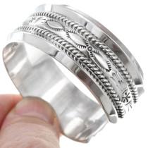 Heavy Gauge Silver Bracelet 23426