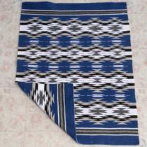 Navajo Blue Wool Rug 26989