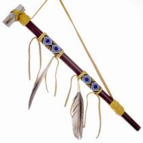 Smokable Indian Peace Pipe 24569