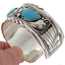 Heavy Gauge Sterling Cuff Bracelet 18123