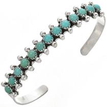 Genuine Turquoise Row Bracelet 25999