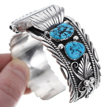 Native American Turquoise Watch Bracelet 15078