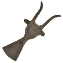 Solid Metal Antelope Shoehorn 253255