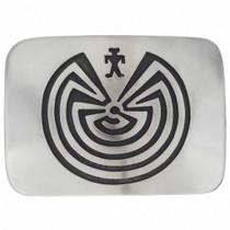 Man In The Maze Belt Buckle 25095