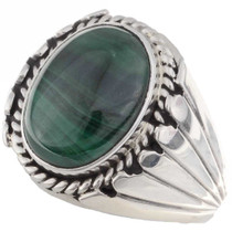 Malachite Mens Ring 17354