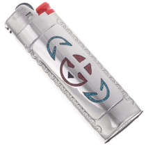 Turquoise Bic Lighter Case Cover 21036