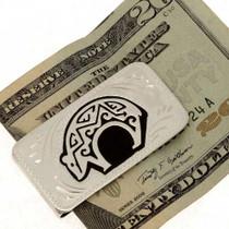Overlaid Silver Money Clip 23200