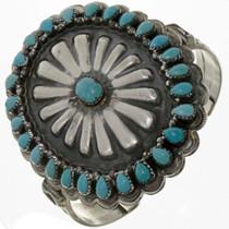 Turquoise Concho Bracelet 17371