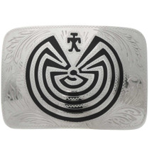 Man in the Maze Belt Buckle 23173