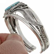 Inlaid Turquoise Cuff Bracelet 12793