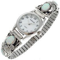 Navajo Ladies Opal Silver Watch 23037