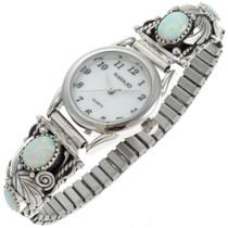 Navajo Ladies Opal Silver Watch 23037