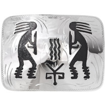 Overlaid Hopi Belt Buckle 22895
