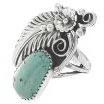 Genuine Royston Turquoise Ladies Ring 27124