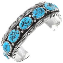 Navajo Turquoise Cuff Bracelet 17622