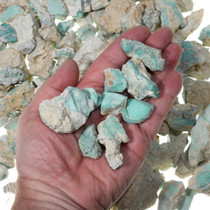 Green Variscite Nuggets Natural Untreated 22195