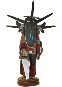 Black Ogre Kachina Doll