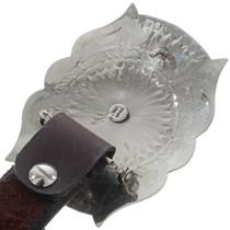 Full Size Silver Concho Belt 14374