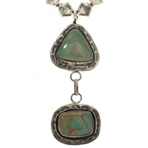 Native American Turquoise Y Necklace 11250