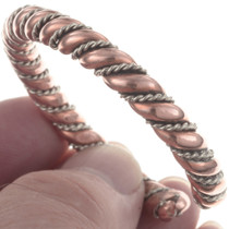 Twist Wire Copper Bracelet 31729