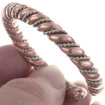 Twist Wire Copper Bracelet 31729
