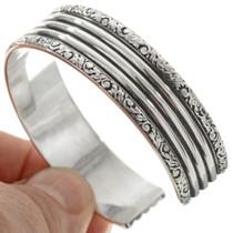 Native American Made Sterling Bracelet 23132