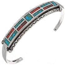 Turquoise Coral Bracelet 25506