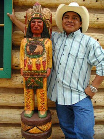 Cigar Store Indian Chief 33998