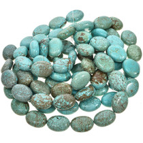 Full Size Kingman Blue Beads 30875