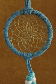 Blue Traditional Dreamcatcher