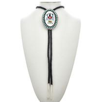 Native American Inlaid Bolo Tie 23775