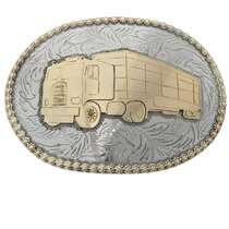 Big Rig Belt Buckle 23202