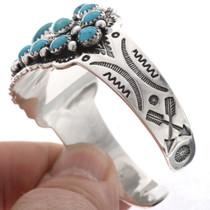 Navajo Turquoise Ladies Cuff 25609
