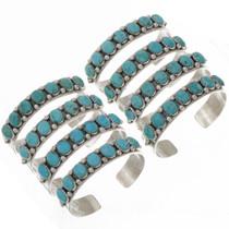 Turquoise Silver Unisex Bracelet 25709